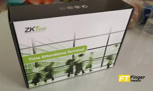 กล่องเครื่องสแกนลายนิ้วมือรุ่น ZKTeco thai01