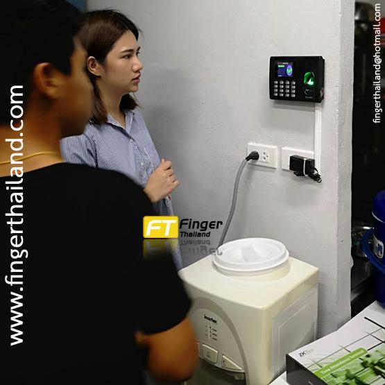 การใช้งาน เครื่องสแกนลายนิ้วมือรุ่น ZKTeco thai01